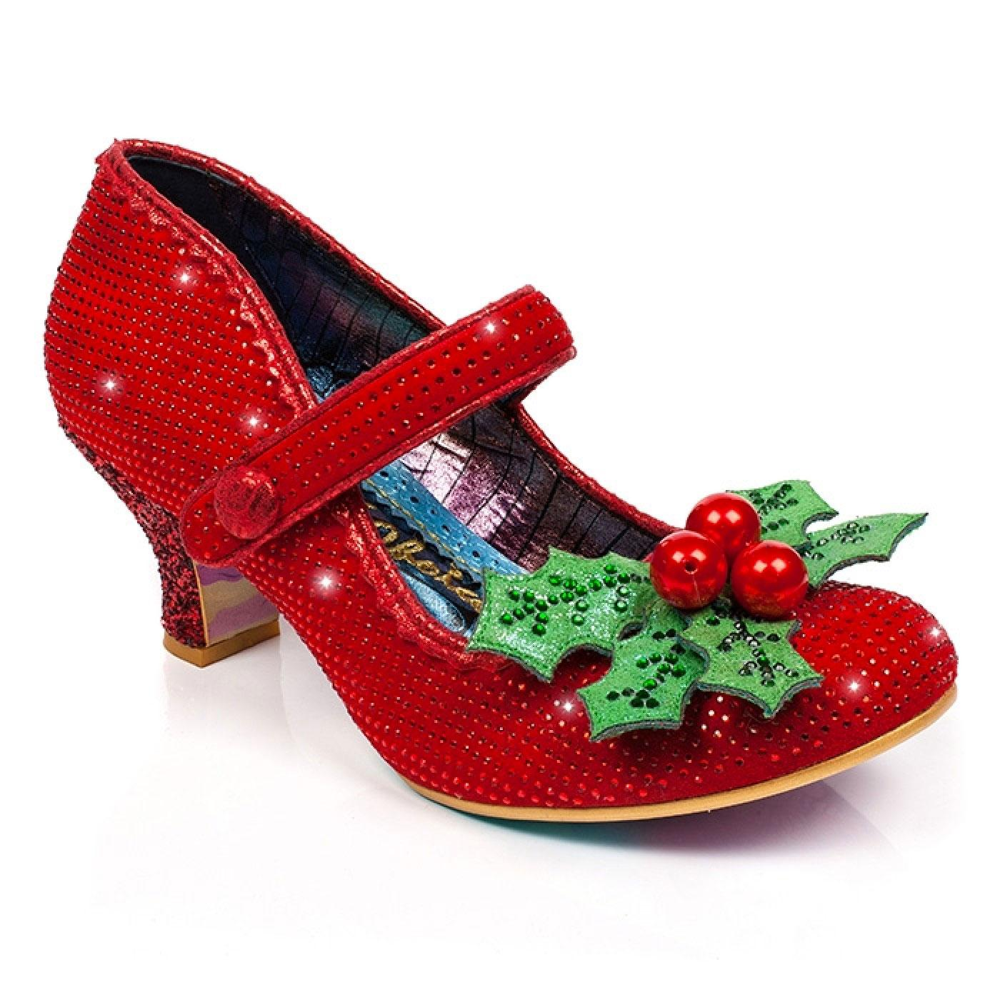Little Holly IRREGULAR CHOICE Christmas Shoes