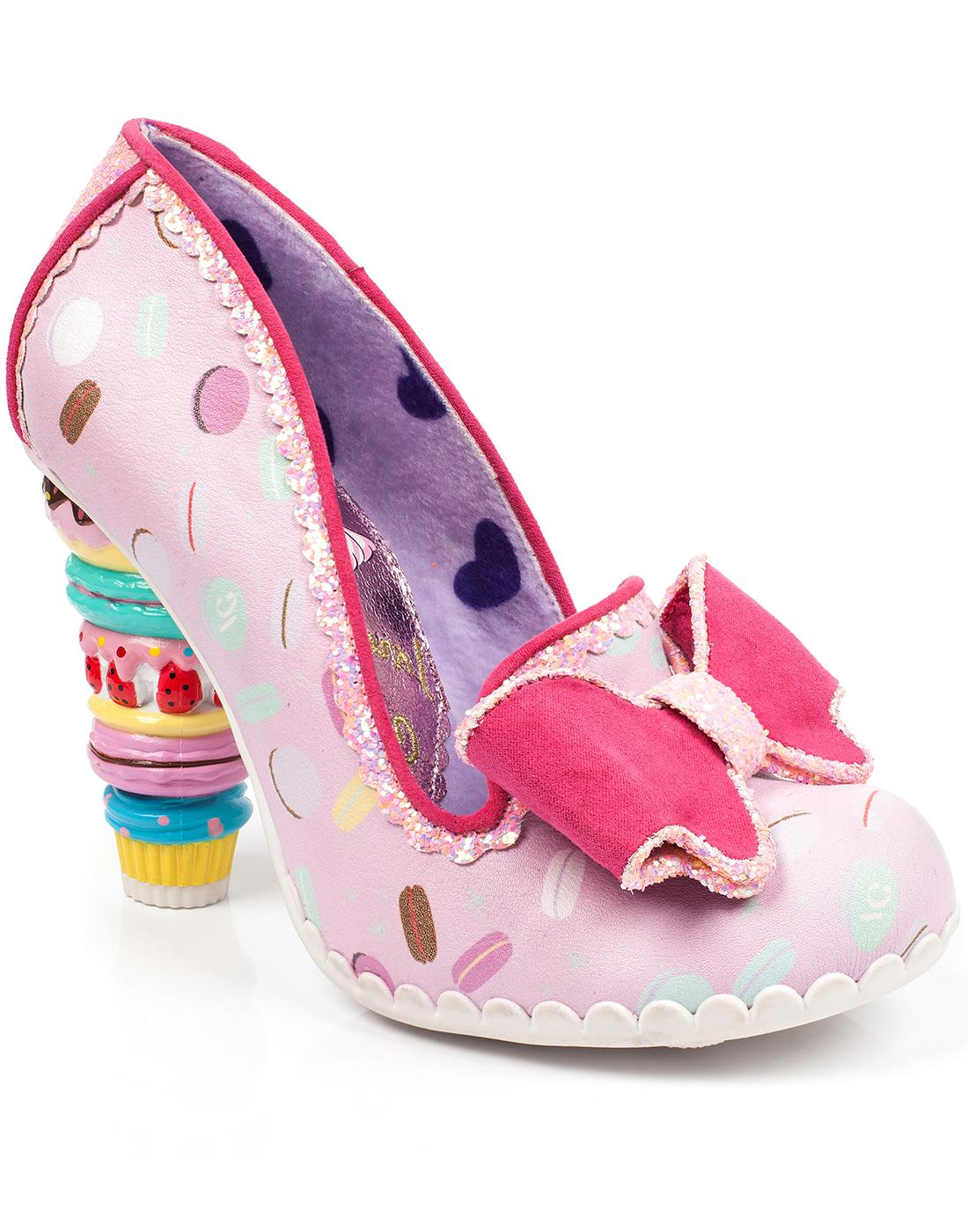 Little Kisses IRREGULAR CHOICE Sweetie Heels Pink