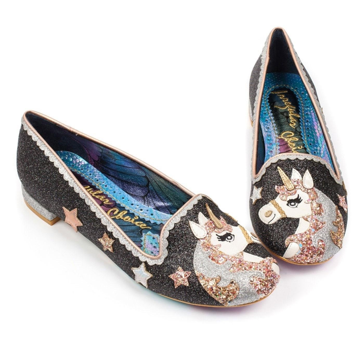 Loosen The Reins IRREGULAR CHOICE Unicorn Flats