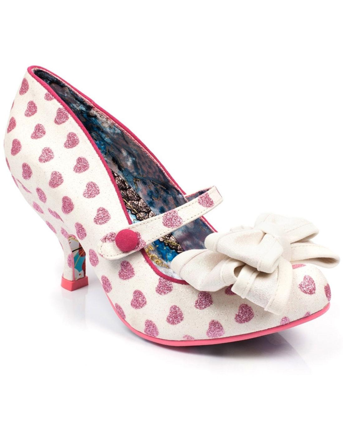 Love is in the Air IRREGULAR CHOICE Heart Heels