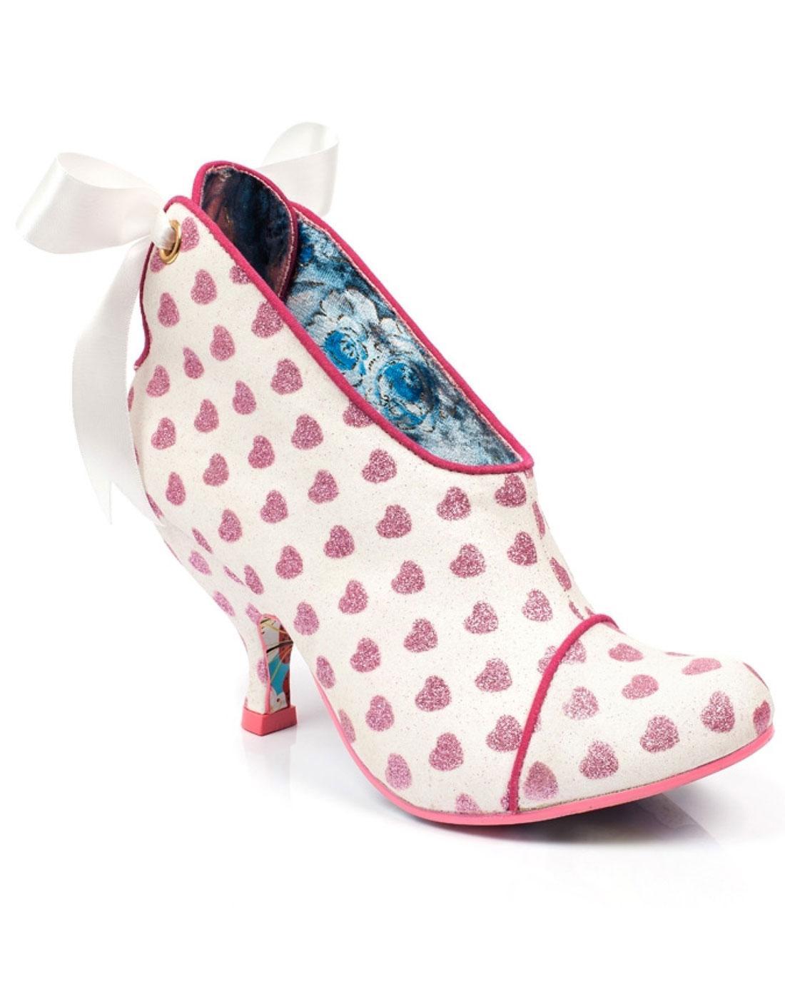 Love is All Around IRREGULAR CHOICE Heeled Boots