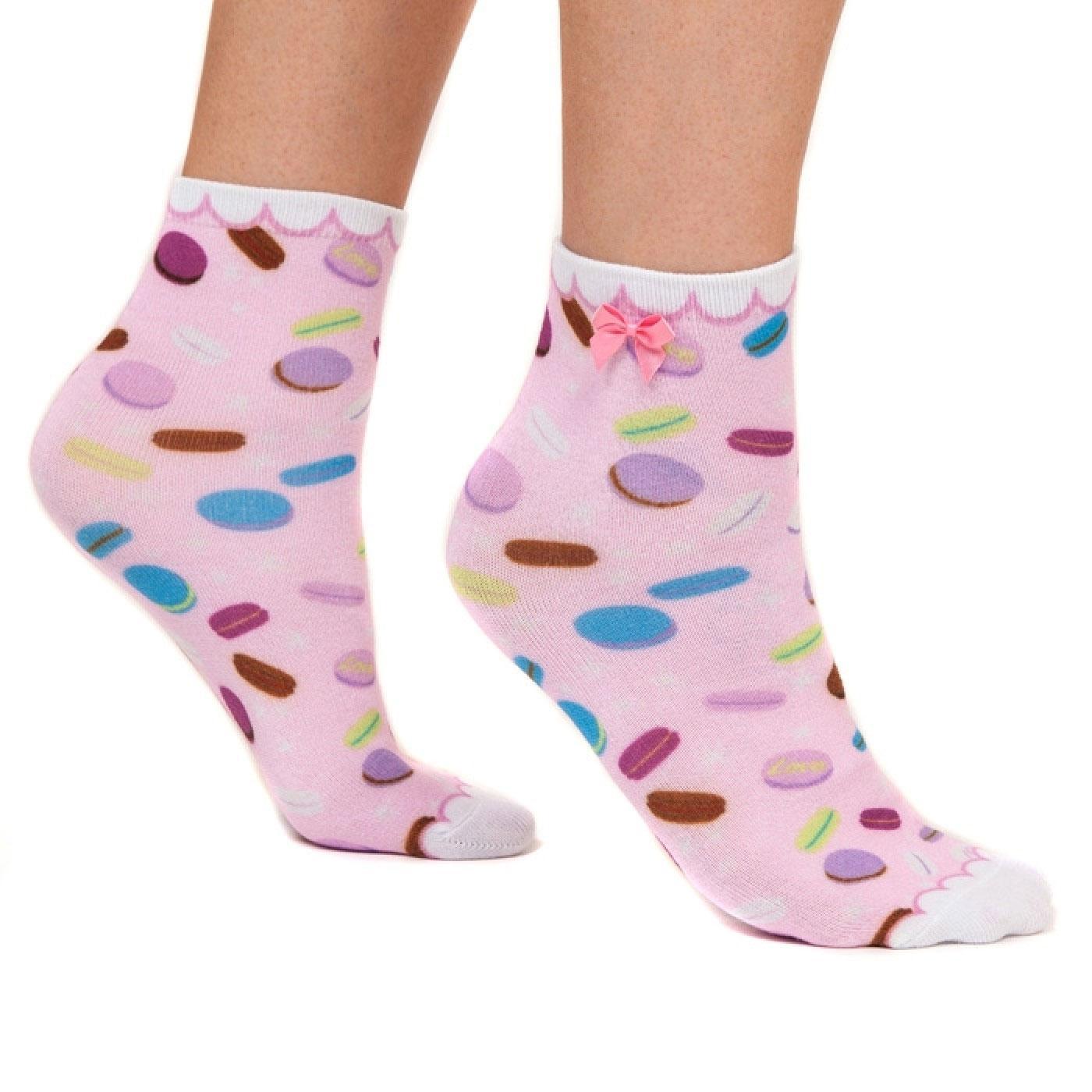 Sweet Treats IRREGULAR CHOICE Retro Macaron Socks