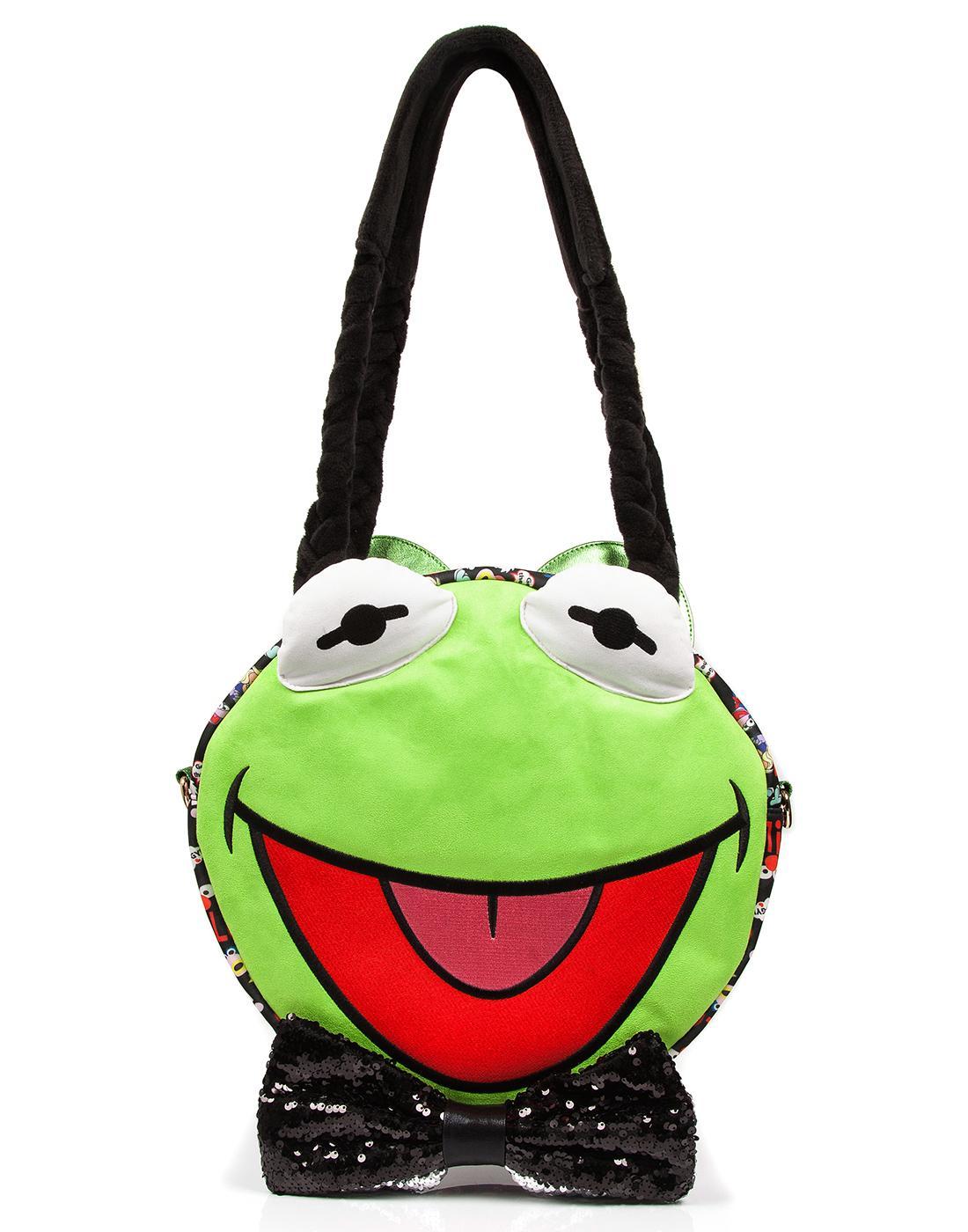 Hip Hop Happy IRREGULAR CHOICE MUPPETS Kermit Bag