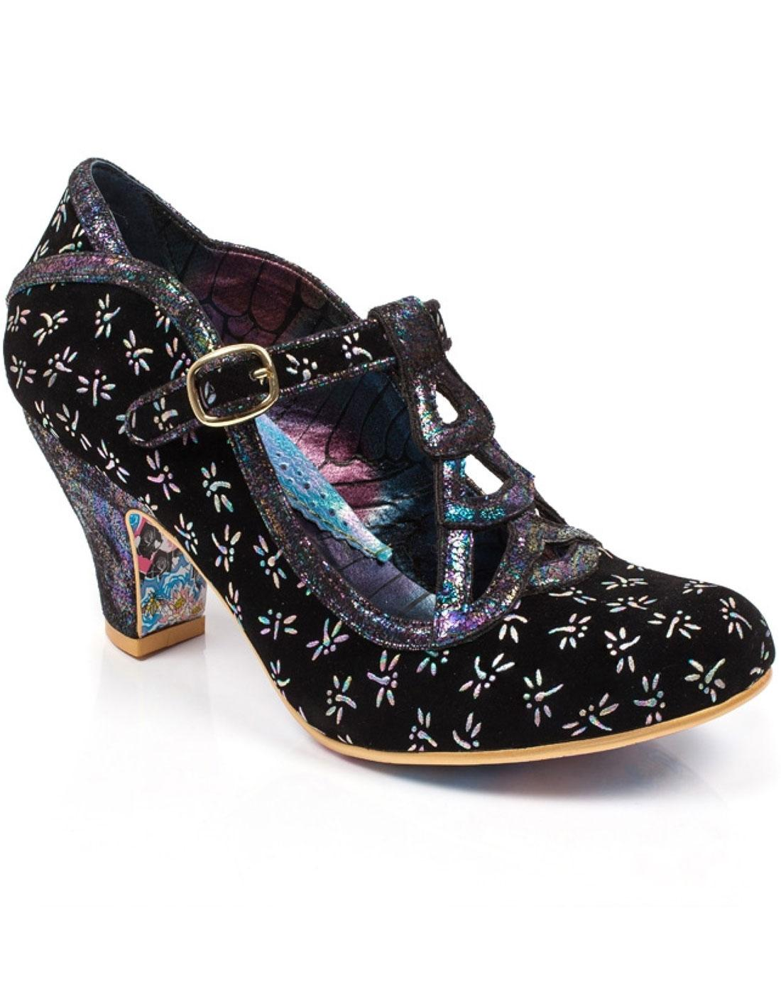 Nicely Done IRREGULAR CHOICE Black Dragonfly Heels