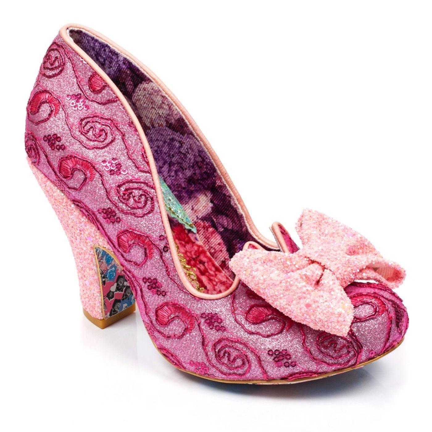 Nick Of Time IRREGULAR CHOICE Vintage Shoes - Pink