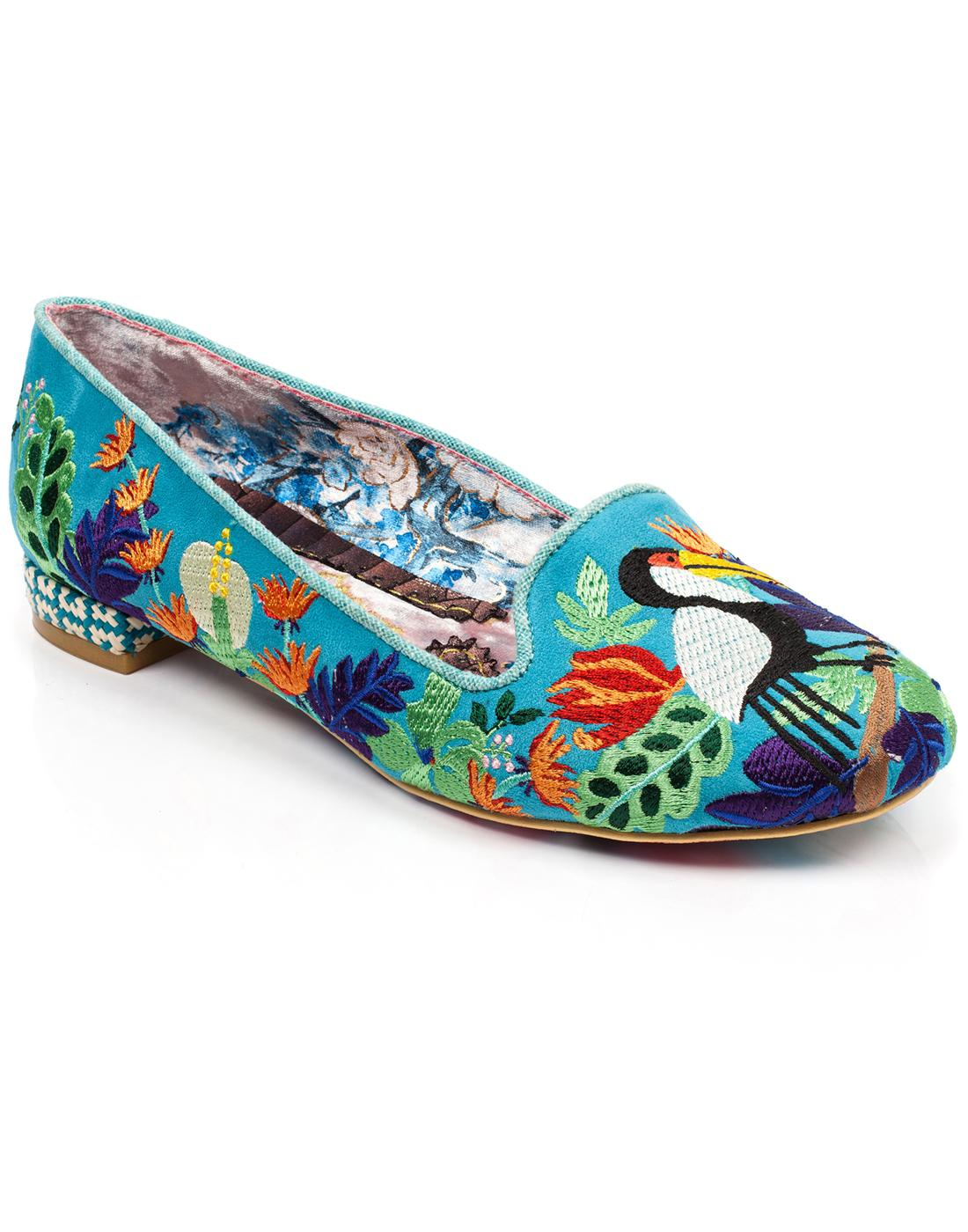 Yes You Peli Can IRREGULAR CHOICE Tropical Flats T