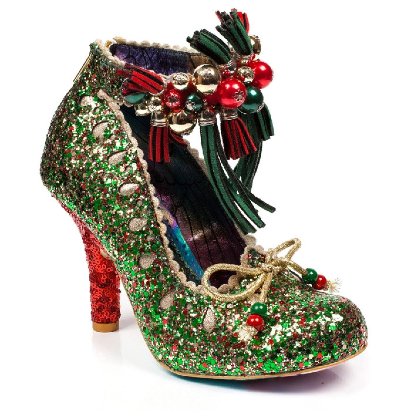 Princess Promise IRREGULAR CHOICE Glitter Heels Gr