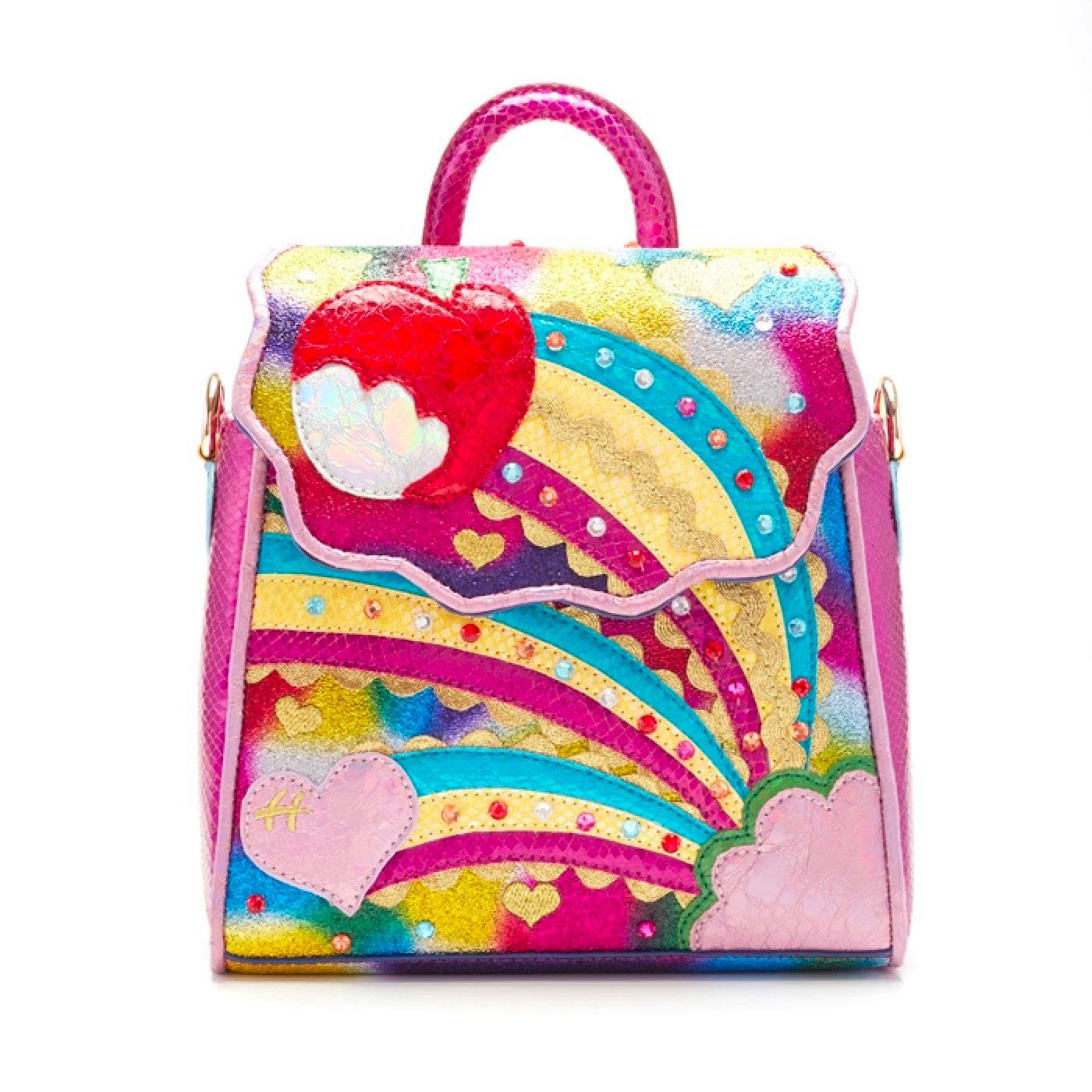 Rainbow Splash IRREGULAR CHOICE Handbag Pink