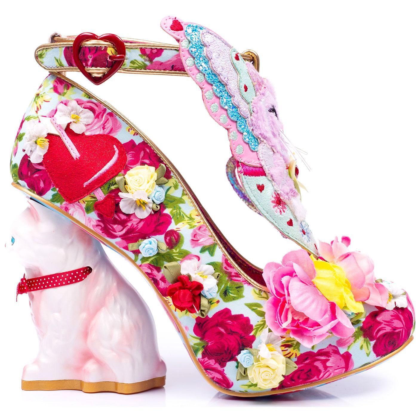 Smitten Kitten IRREGULAR CHOICE Character Shoes