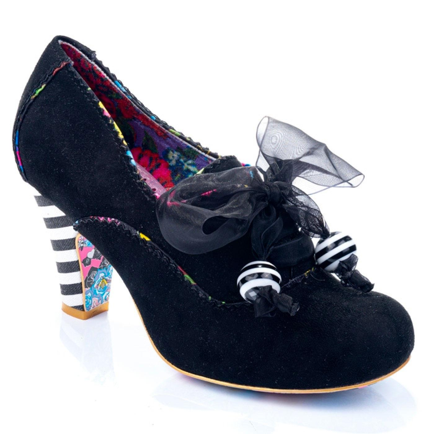 Summer Berries IRREGULAR CHOICE Black Booties