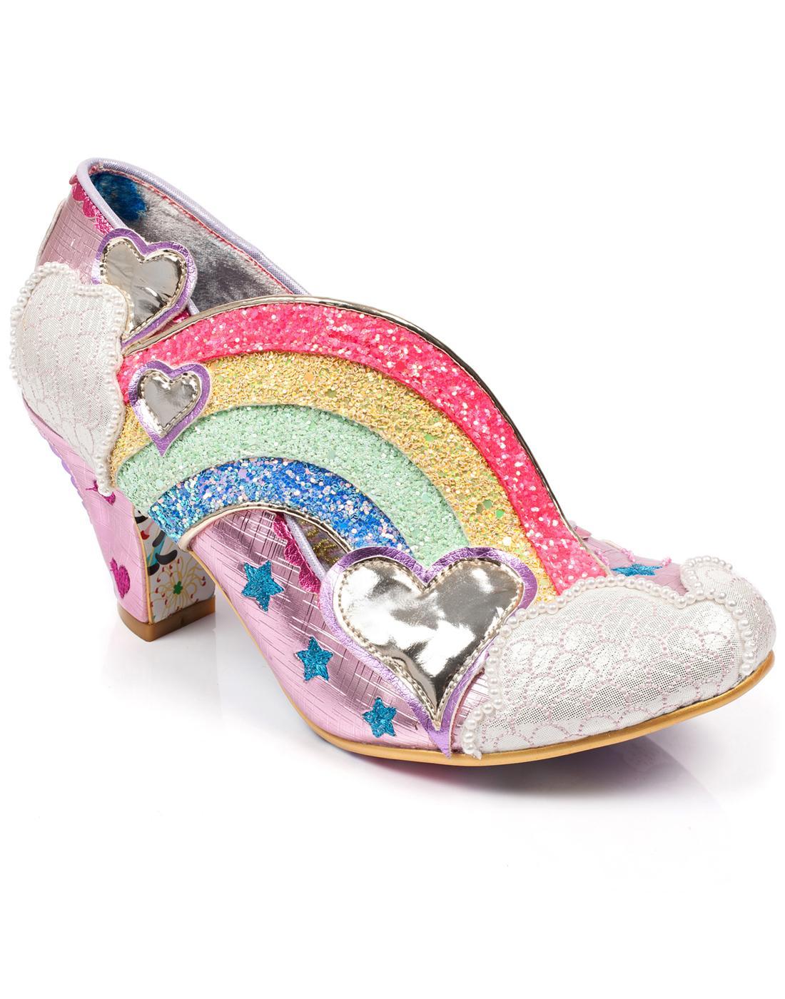 Summer of Love IRREGULAR CHOICE Rainbow Shoes