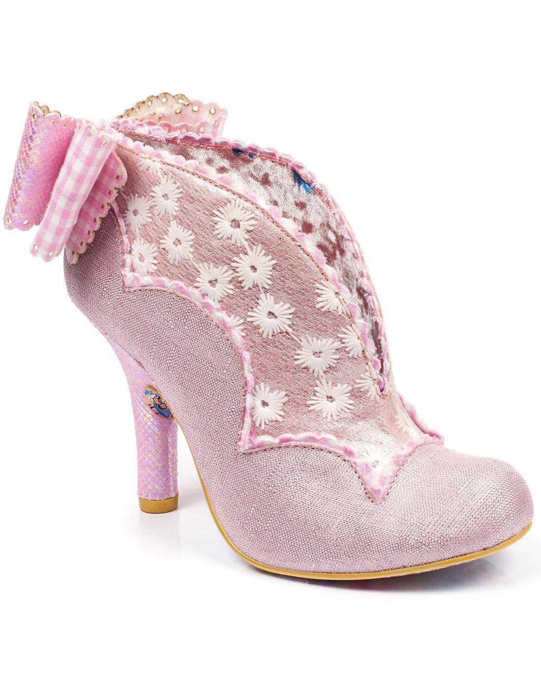 Toasted Teacake IRREGULAR Choice Floral Heels PINK