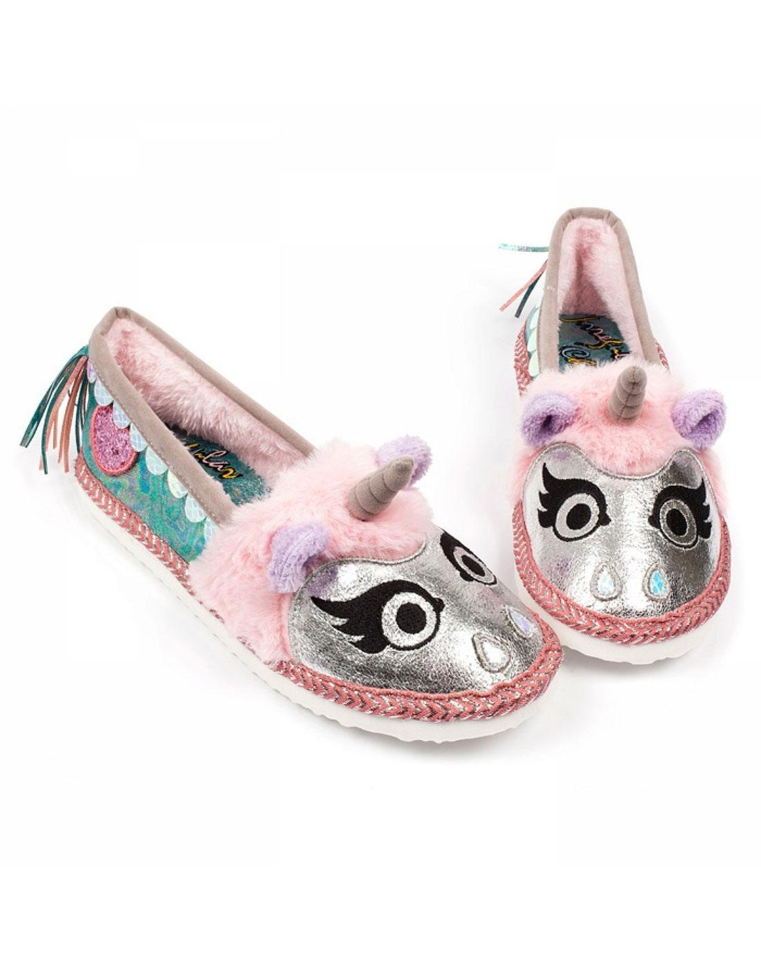 Mystical Dreams IRREGULAR CHOICE Unicorn Slippers