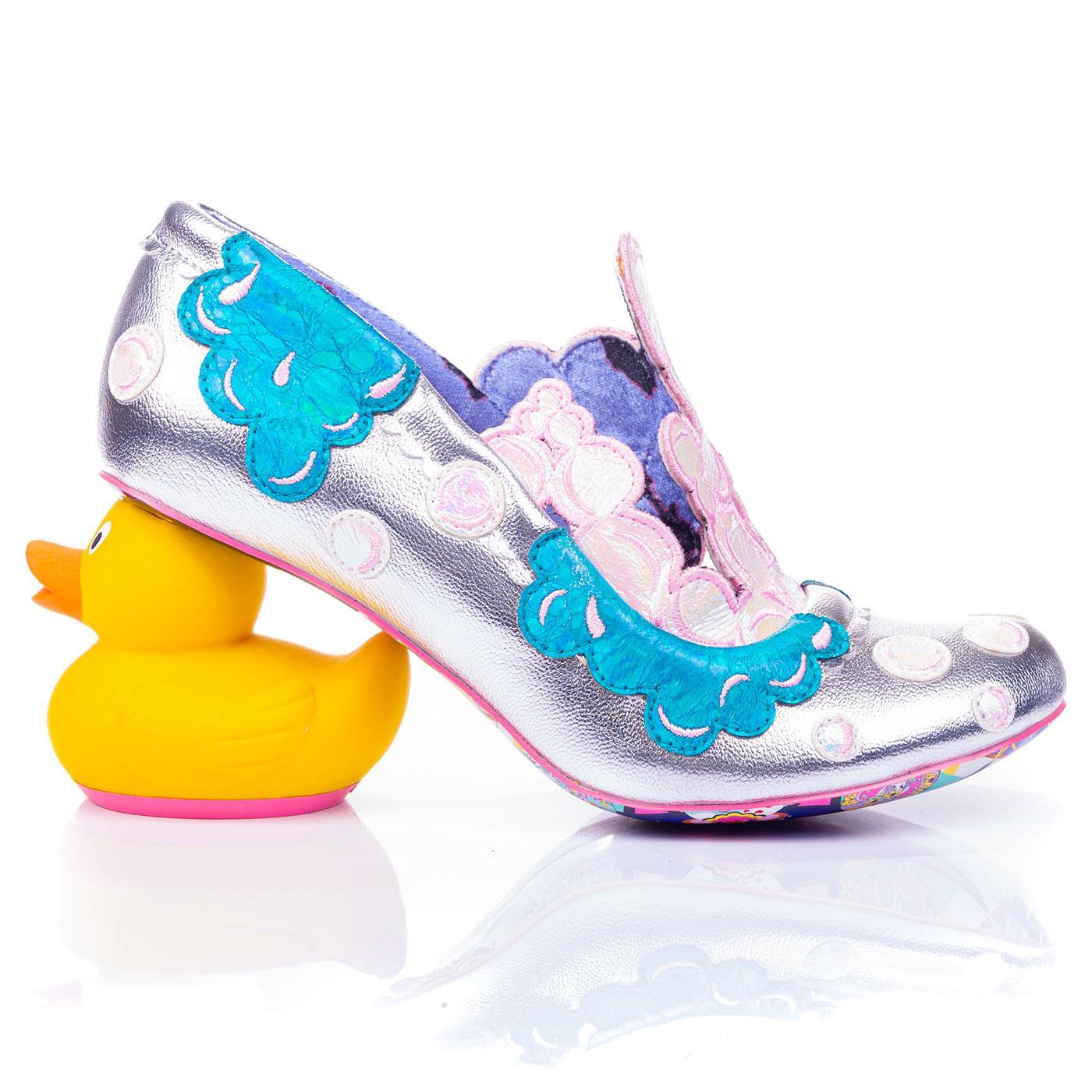 Bubble Bath IRREGULAR CHOICE Rubber Duck Heels