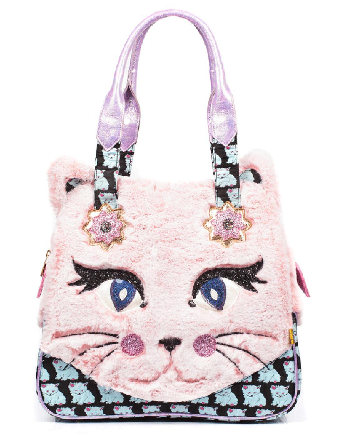 Cat Call IRREGULAR CHOICE Fluffy Shoulder Bag