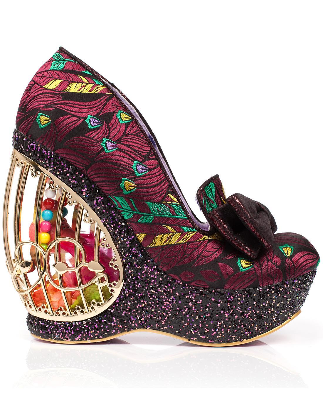Ornate Agador IRREGULAR CHOICE Birdcage Shoes