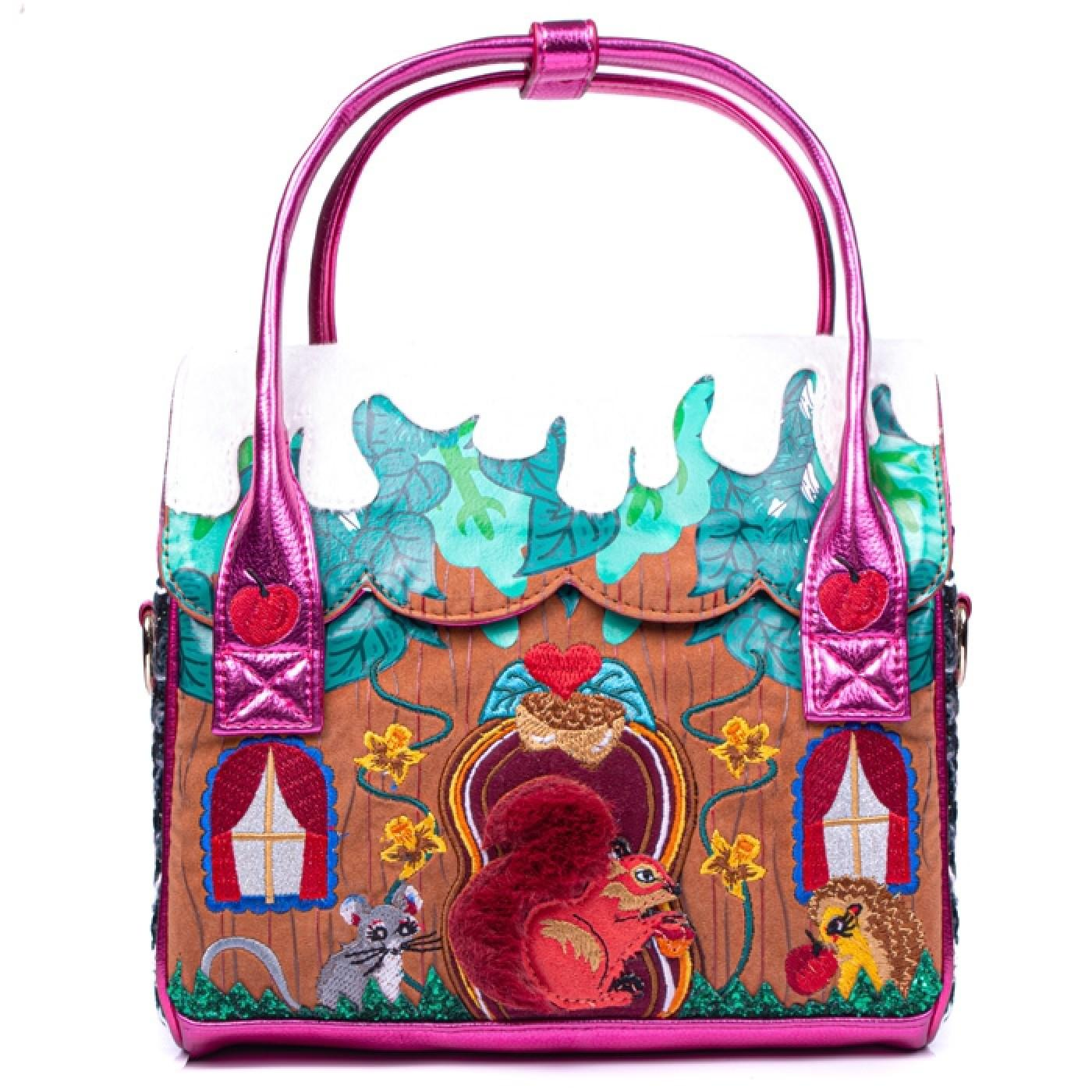 McNutty's Cabin IRREGULAR CHOICE Squirrel Handbag