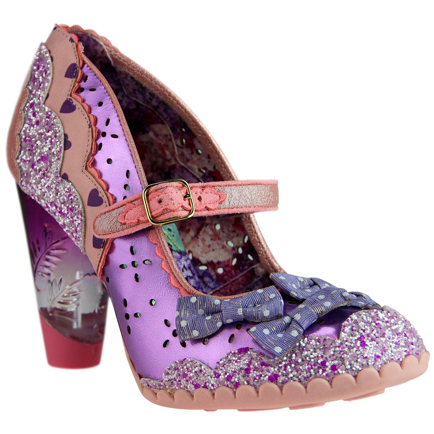 Shoependous IRREGULAR CHOICE Metallic Bow Heels P