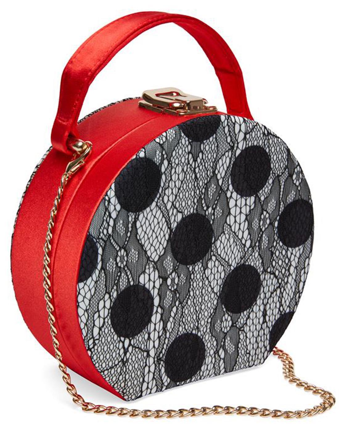 Cordelia JOE BROWNS Retro 1950's Lace Floral Bag