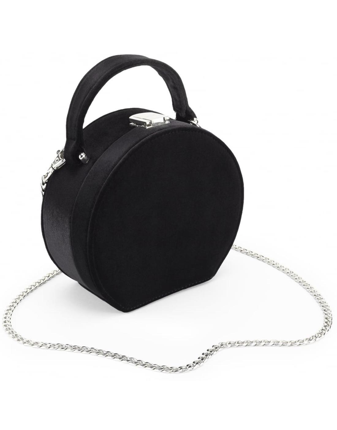 Oracle JOE BROWNS Vintage Velvet Box Handbag Black