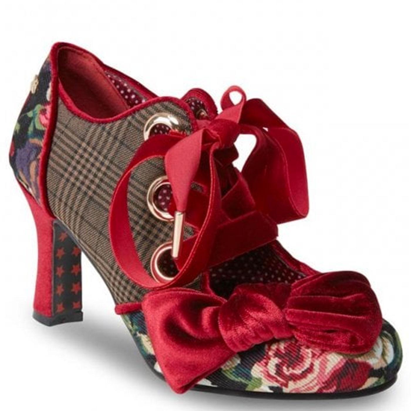 Ruby JOE BROWNS COUTURE Vintage Tweed Shoes