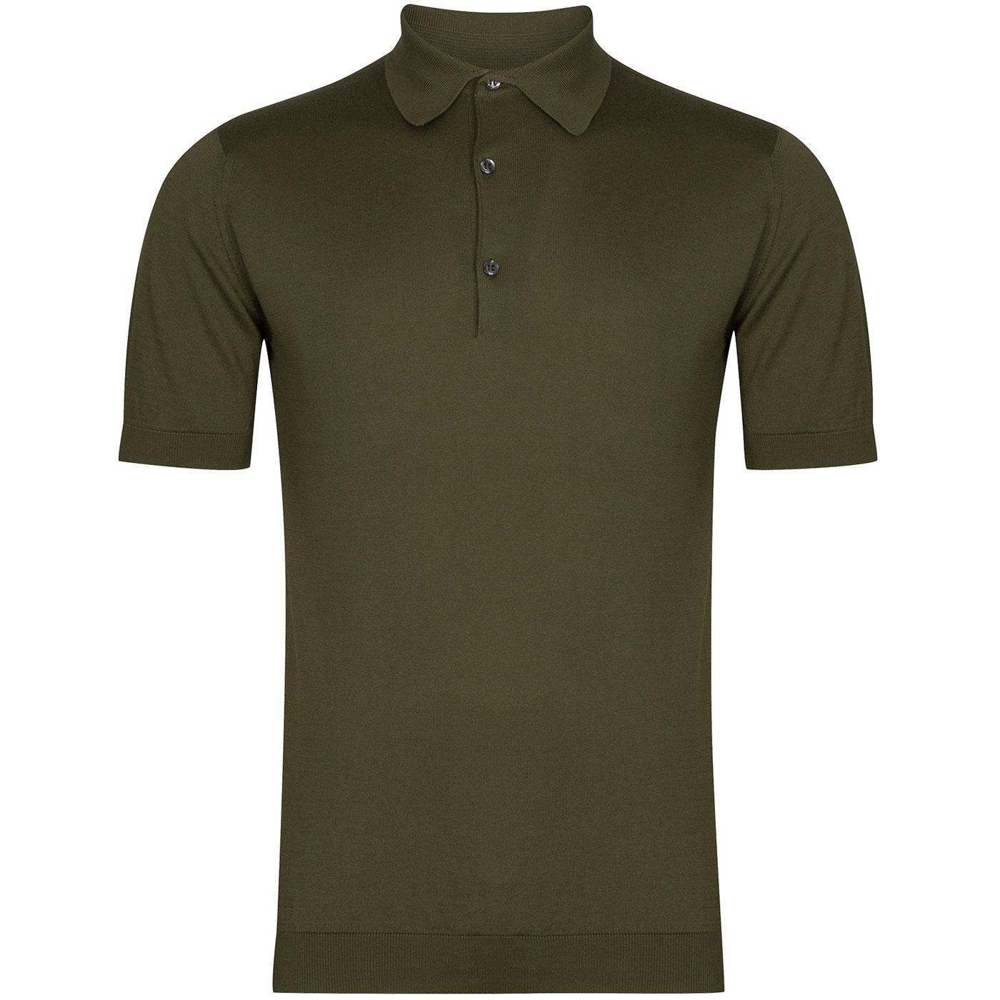 Adrian JOHN SMEDLEY Made in England Polo Top (SG)