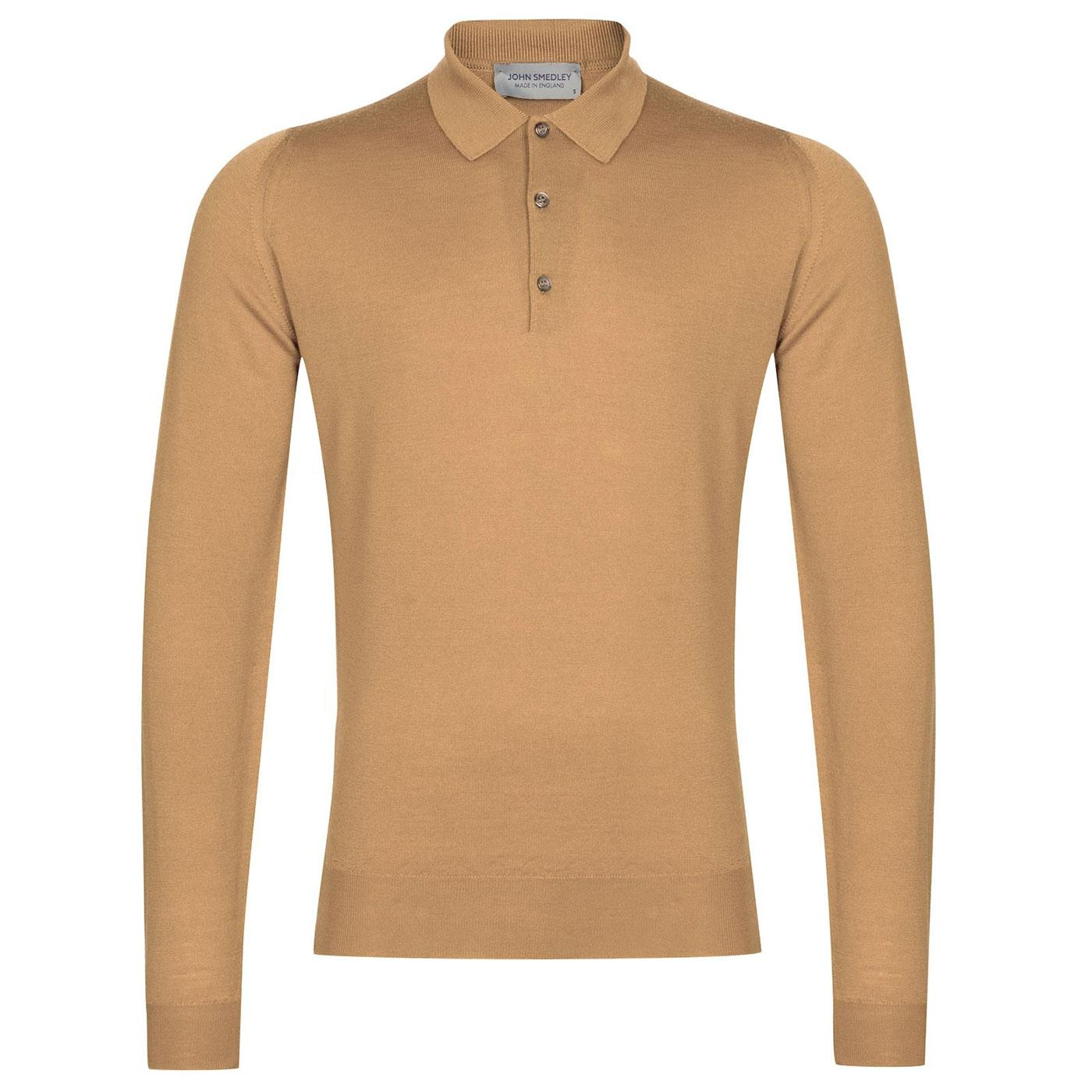 Belper JOHN SMEDLEY 60's Knitted Mod Polo Shirt LC
