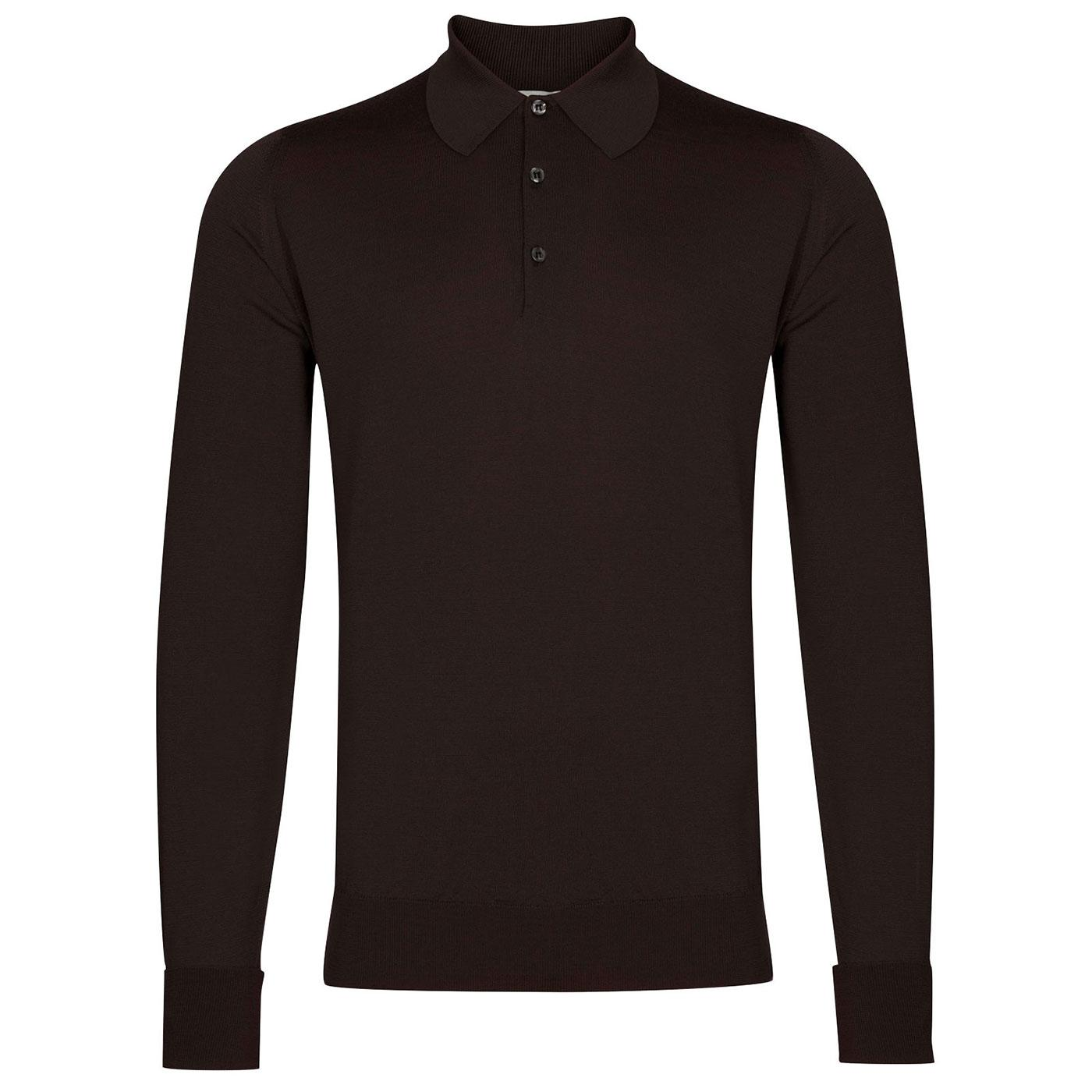 Dorset JOHN SMEDLEY Knitted Wool Mod Polo Shirt DC