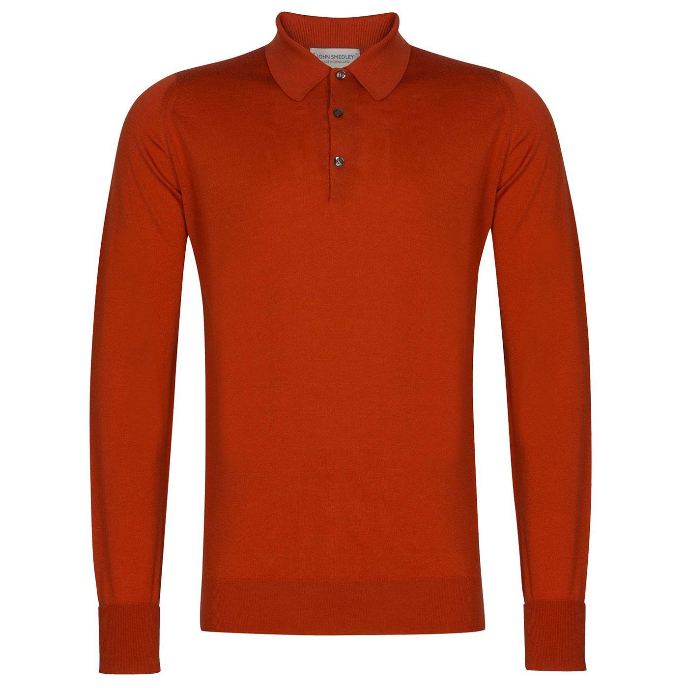 Dorset JOHN SMEDLEY Knitted Wool Mod Polo Shirt OV