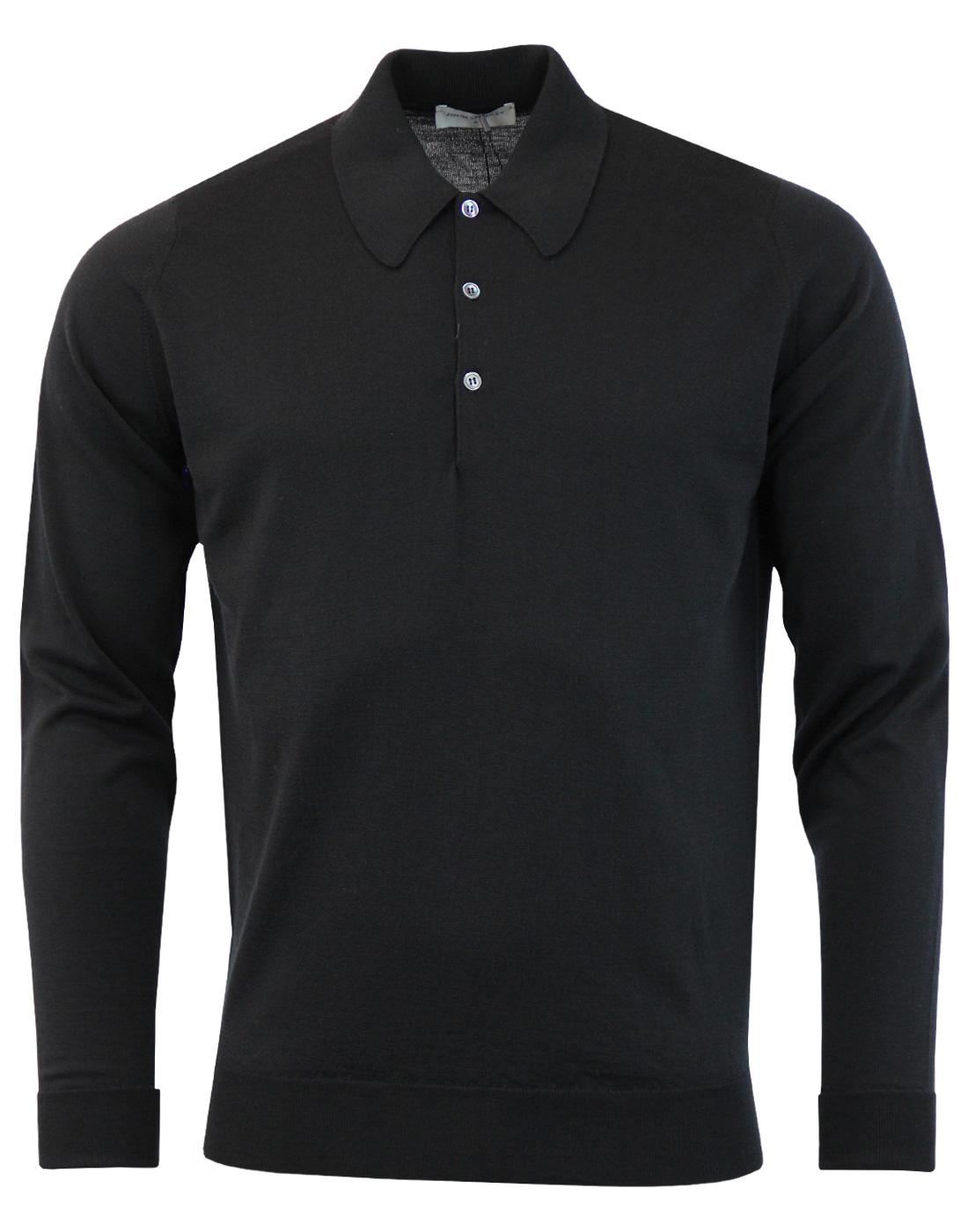 Dorset JOHN SMEDLEY Made in England Knitted Polo B