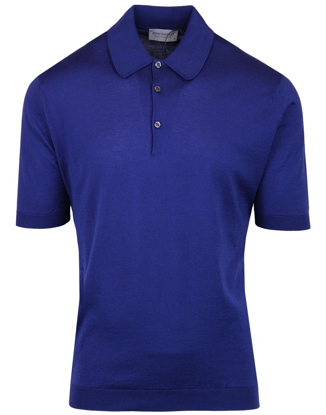 Isis JOHN SMEDLEY Classic Fit Mod Polo Shirt SERGE