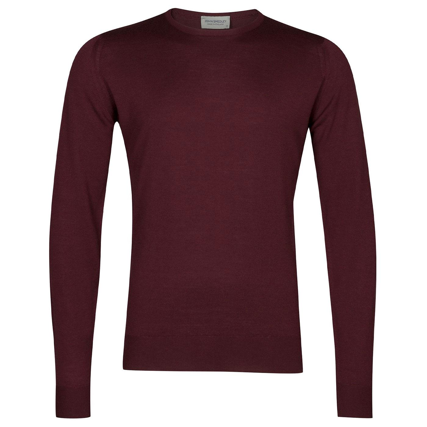 Lundy JOHN SMEDLEY Knitted Merino Wool Pullover BO