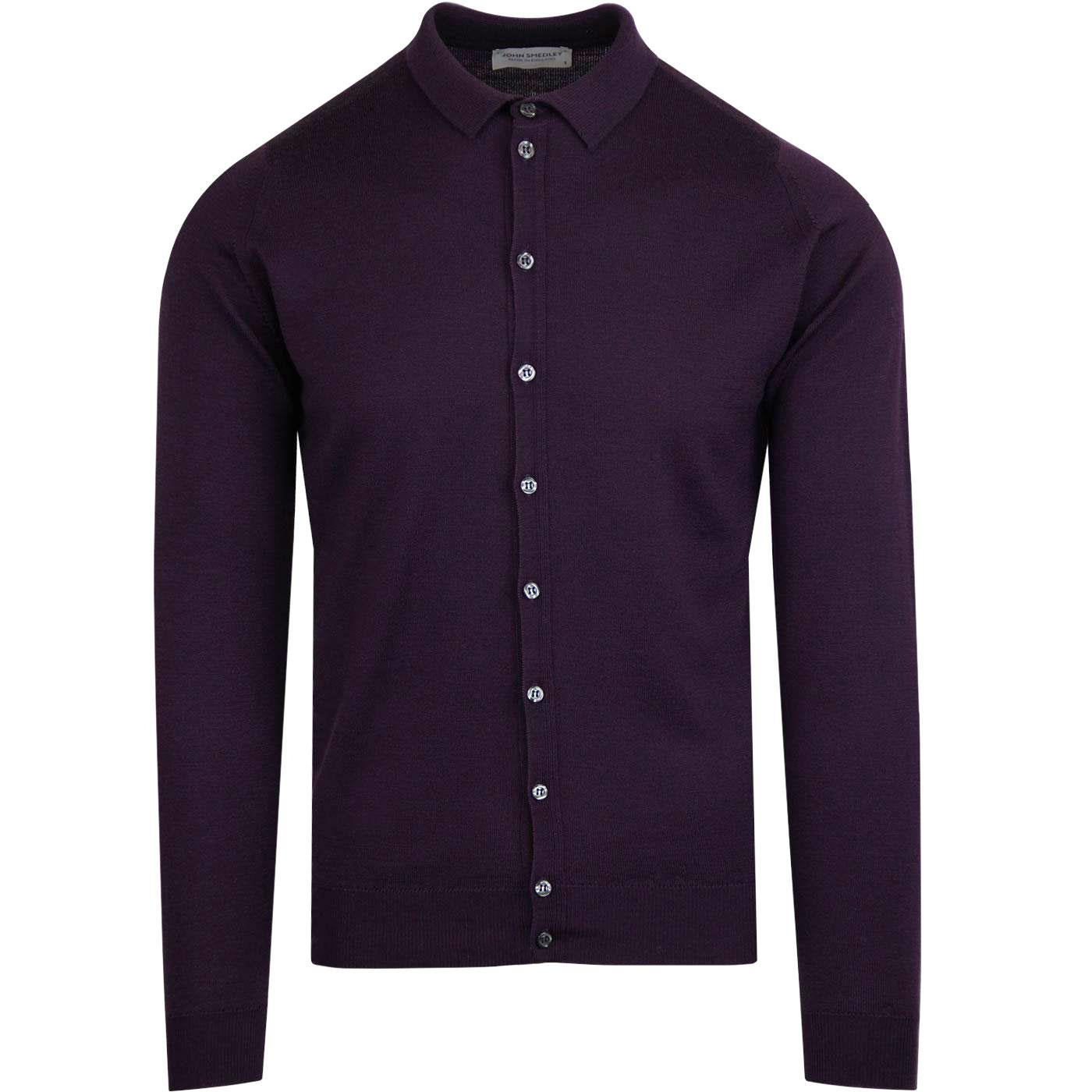 Parwish JOHN SMEDLEY Made in England Knit Shirt MP