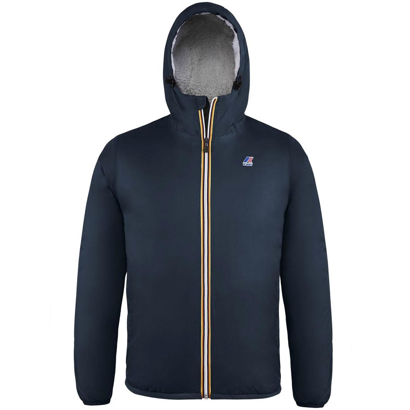 Claude Orsetto K-WAY Retro Fleece Lined Jacket BD