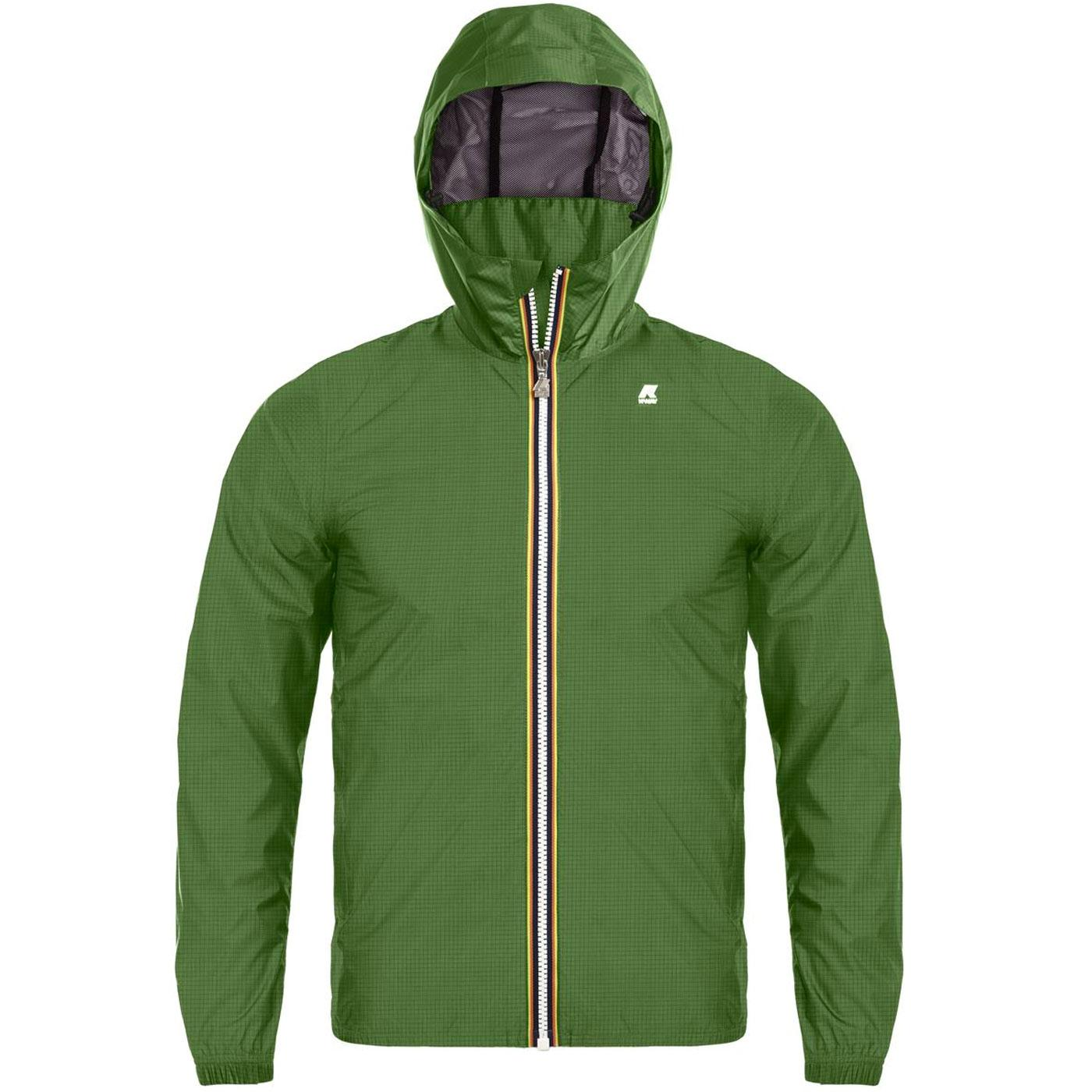 K-WAY Jukes Light Ripstop Hooded Technical Jacket