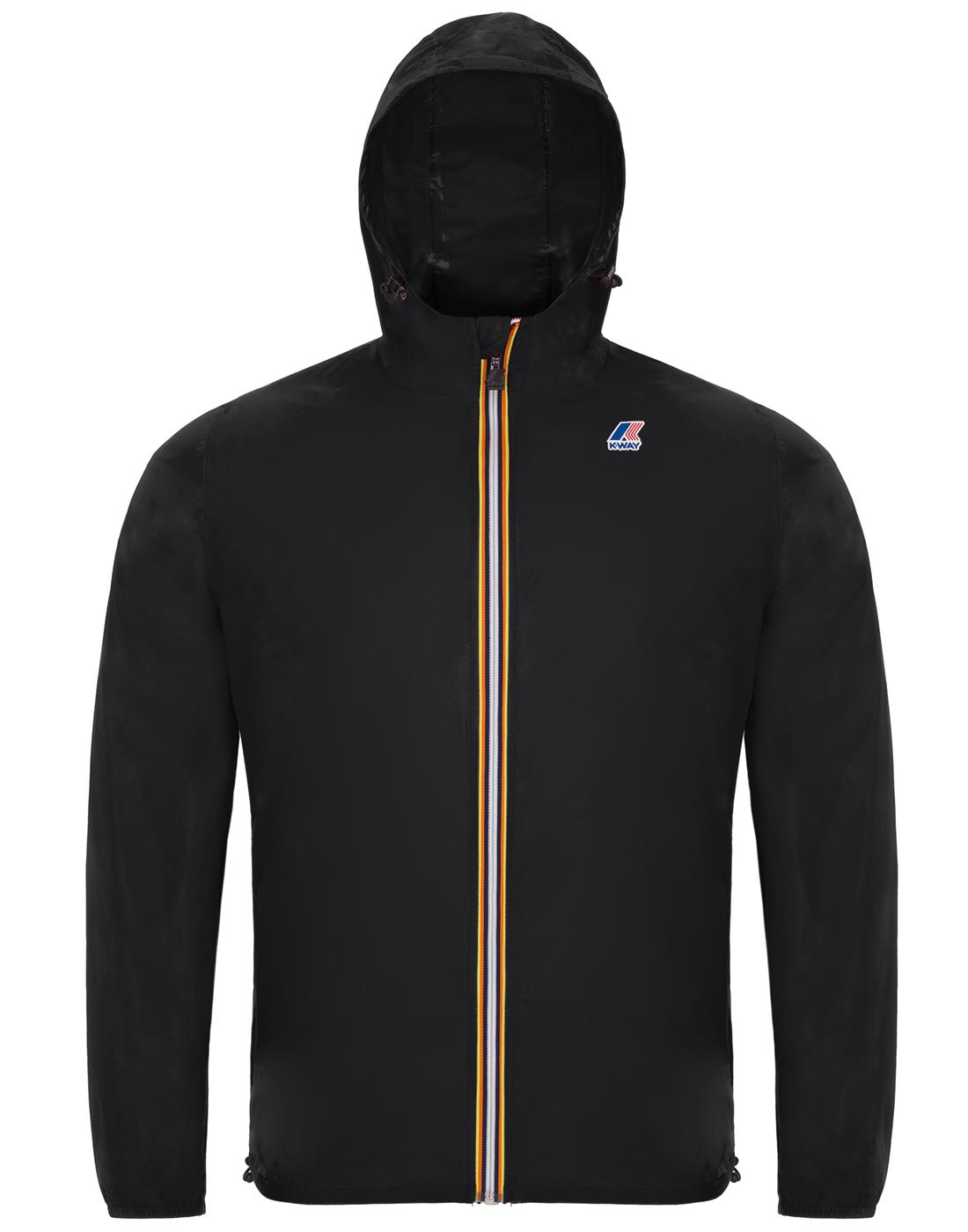 Claude K-WAY Men's Retro Pack-A-Mac Cagoule B