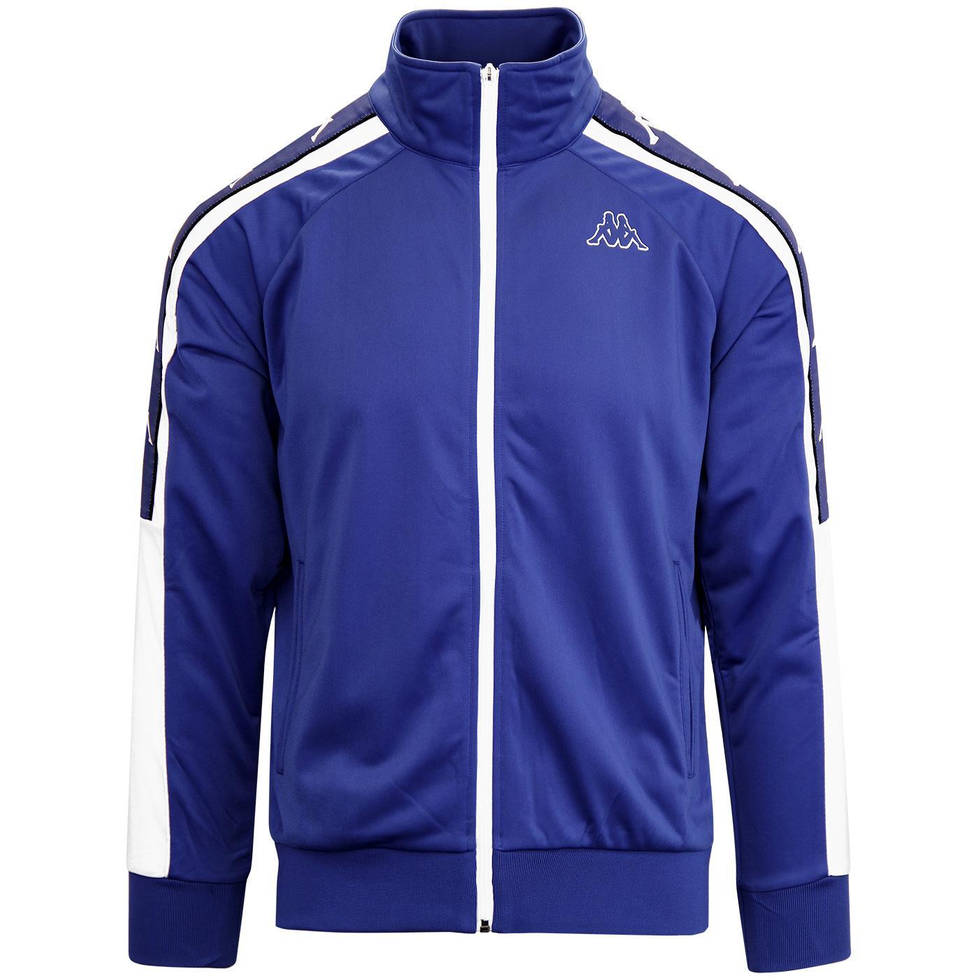 Banda Ahran KAPPA Retro Track Jacket (Blue/White)