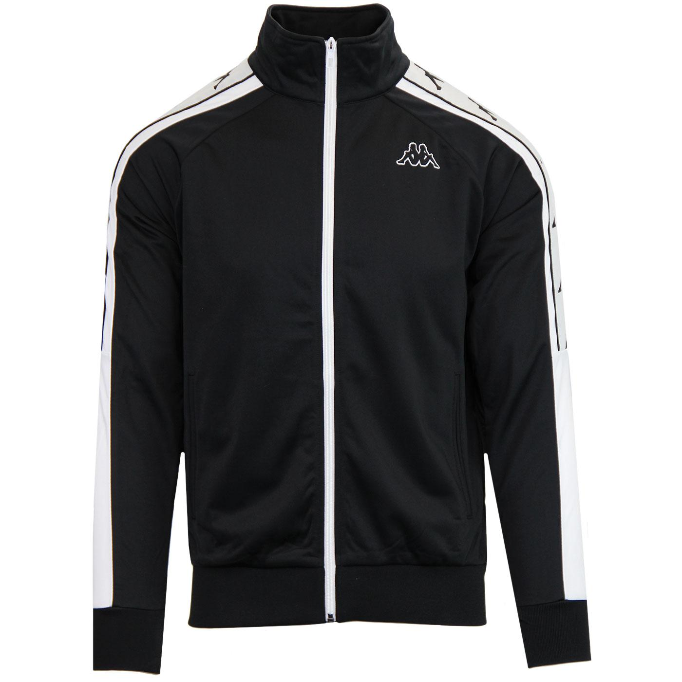 Banda Ahran KAPPA Retro Track Jacket (Black/White)