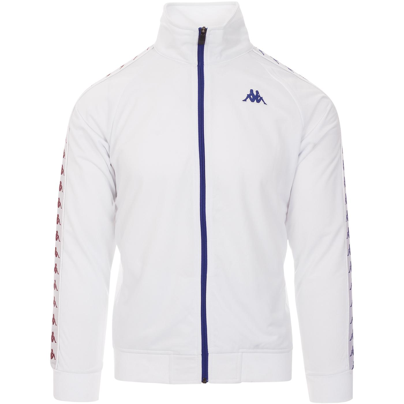 Anniston Banda 222 KAPPA Retro Track Jacket WHITE