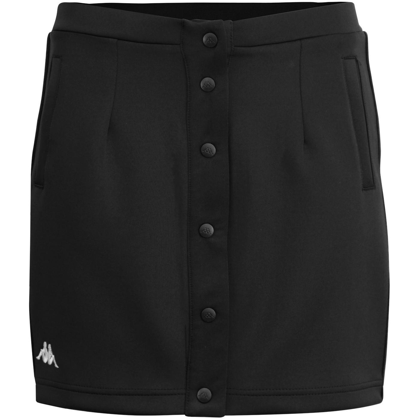 Baquima Banda KAPPA Retro Snap Front Skirt (B/W)