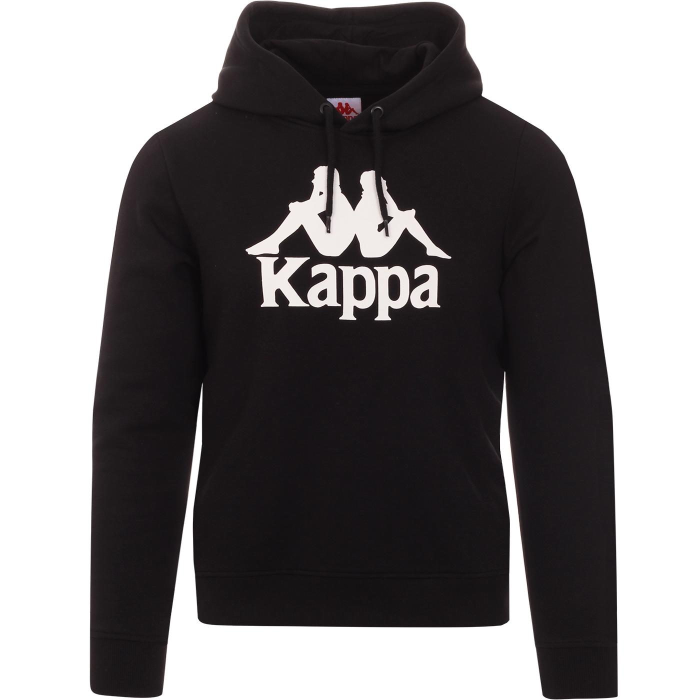 Esmio KAPPA Men's Eighties Retro Logo Hoodie BW