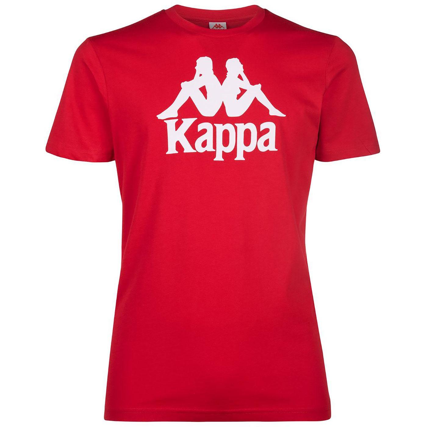 Estessi KAPPA Retro Eighties's Logo T-Shirt RED