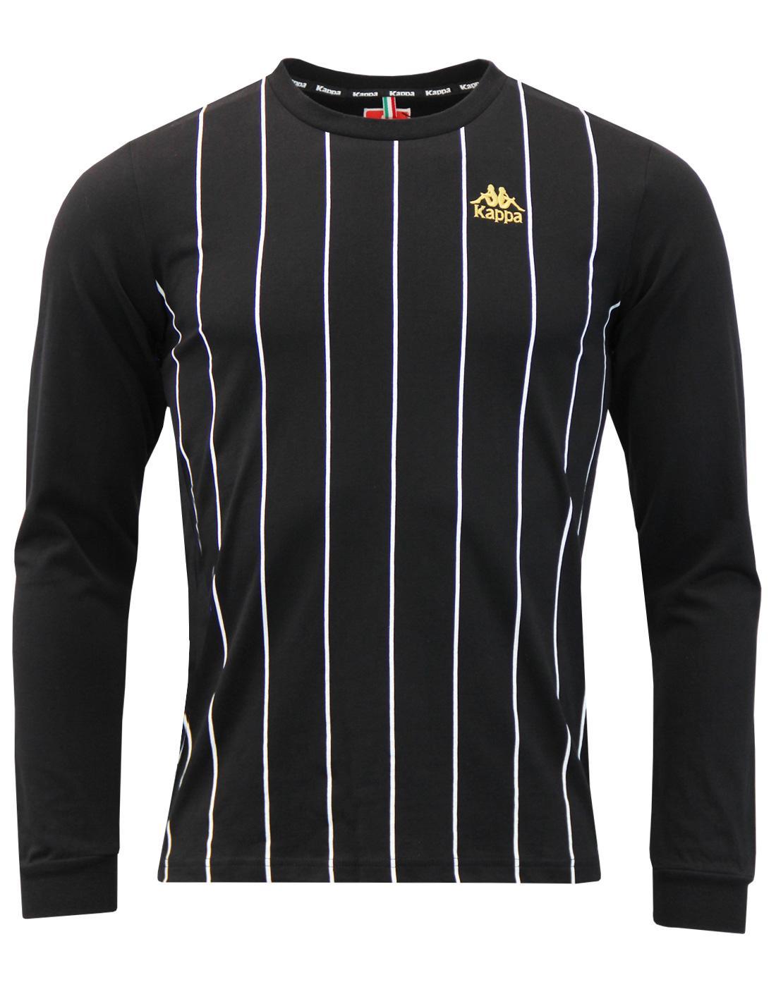 Solis KAPPA Retro Pinstripe Long Sleeve T-Shirt