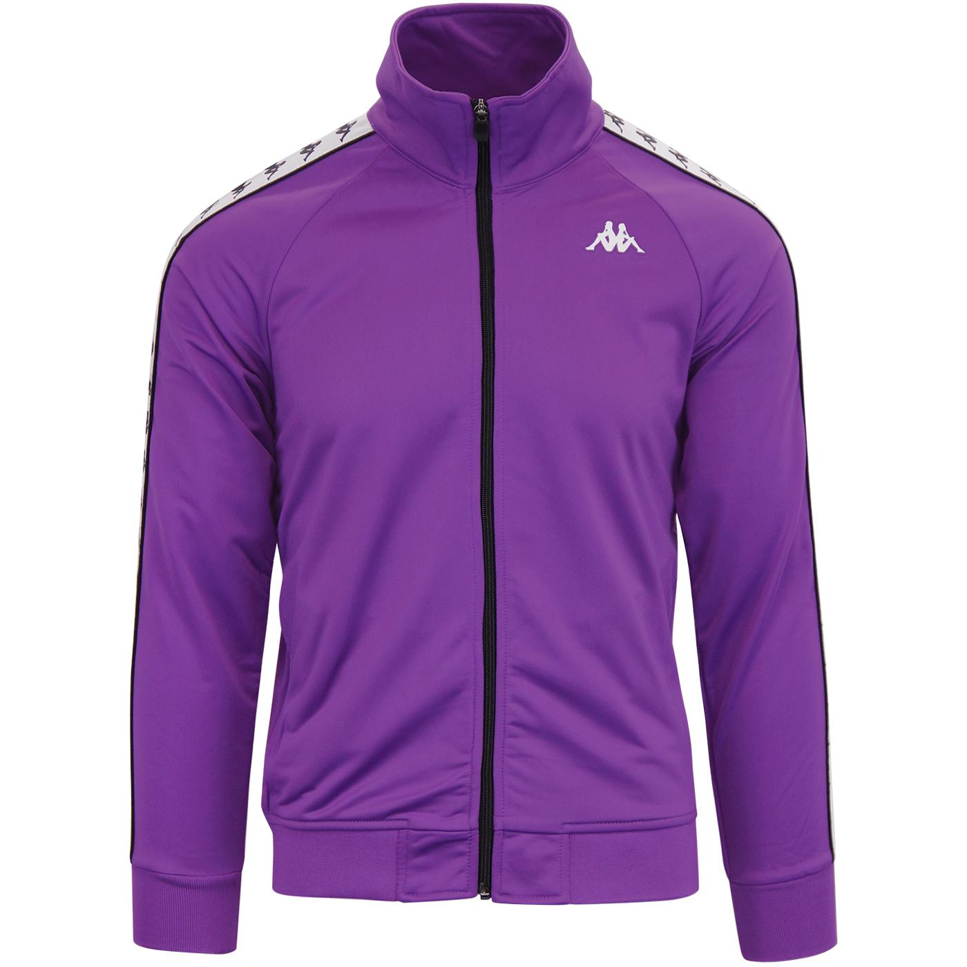 Anniston KAPPA 222 Banda Retro Track Top (Violet)