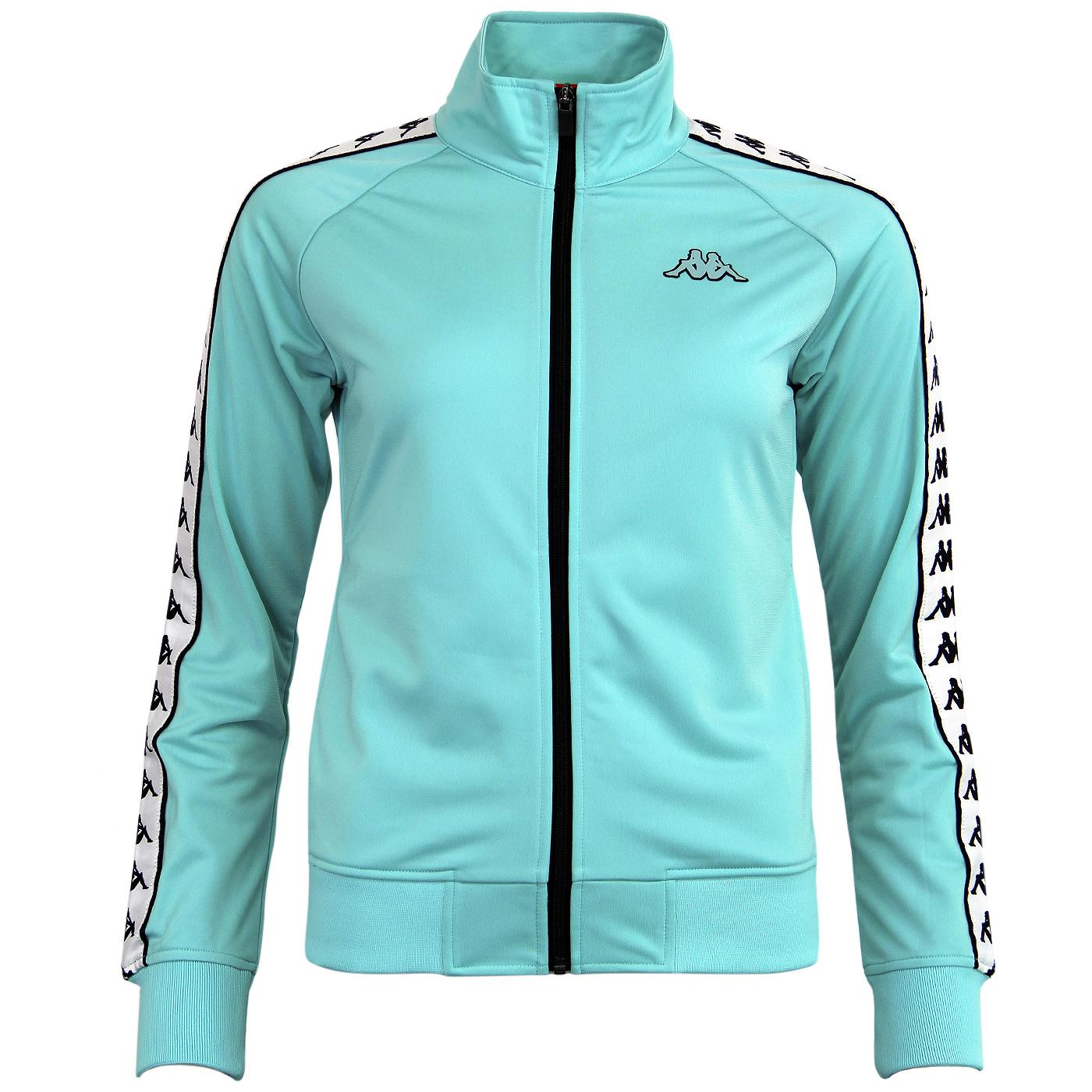 013b44b72c KAPPA 'Anniston Banda' Funnel Neck Track top in Turquoise