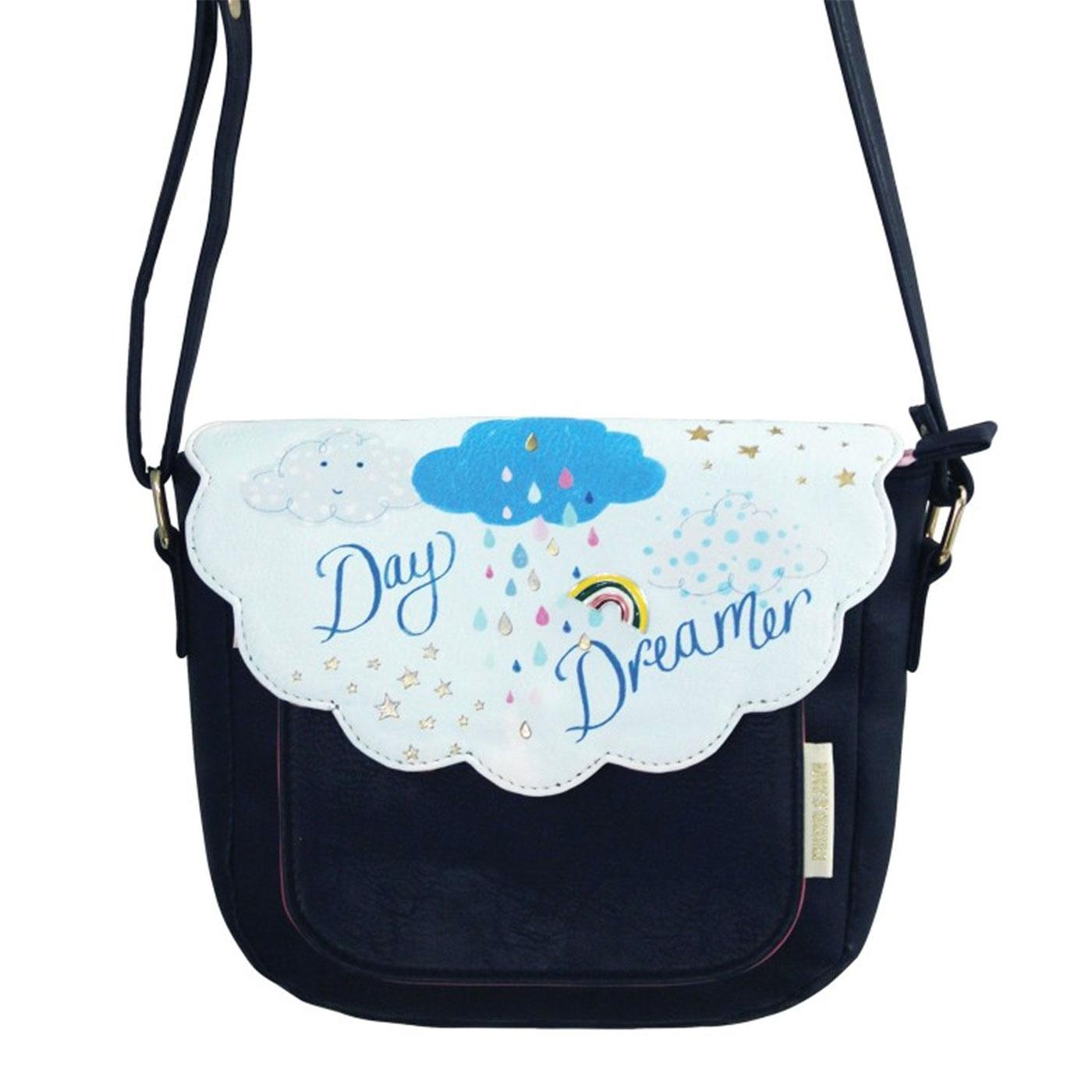 Daydreamer Keepsake Retro Saddle Bag Handbag