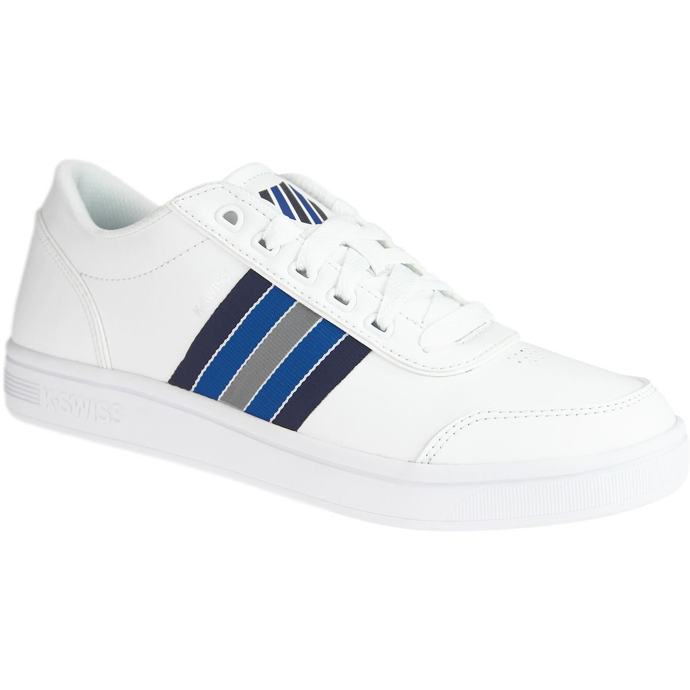 Court Clarkson K-SWISS Retro Tennis Trainers (W/P)