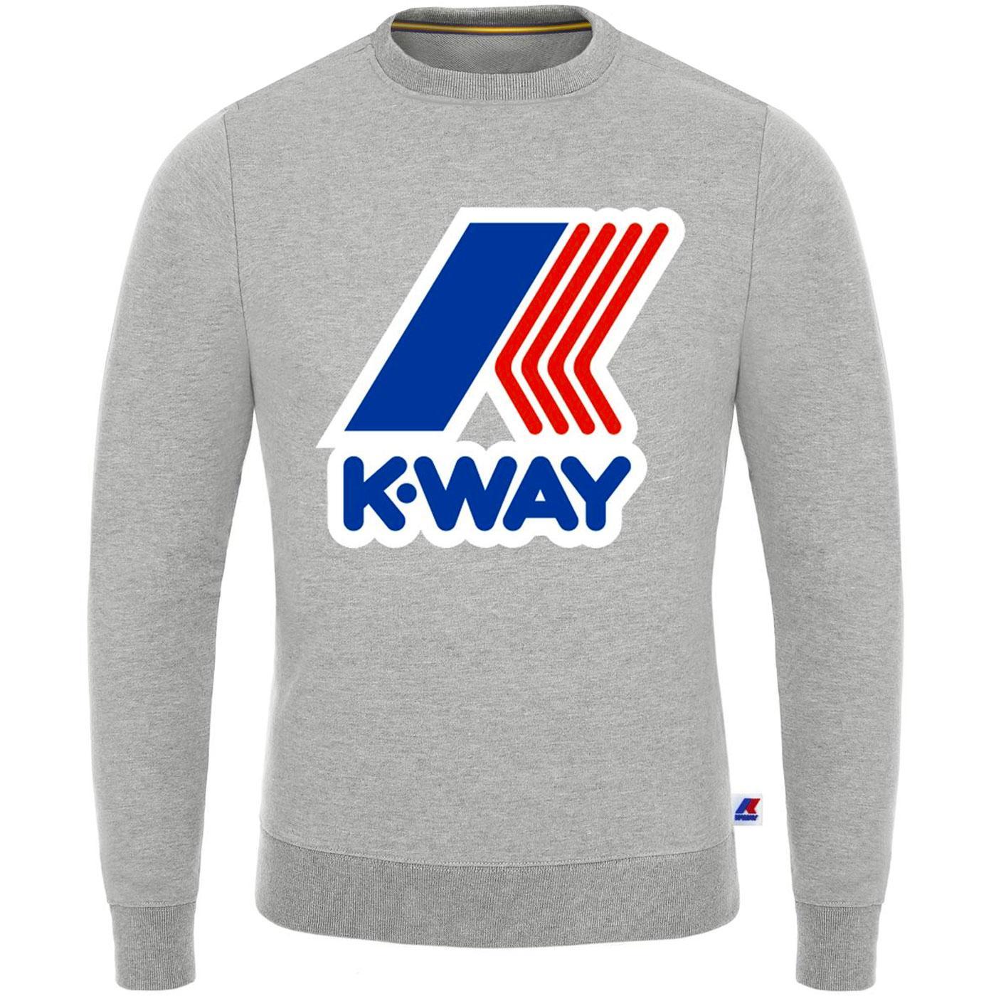 Augustine K-WAY Macro Logo Retro Sweatshirt (LG)