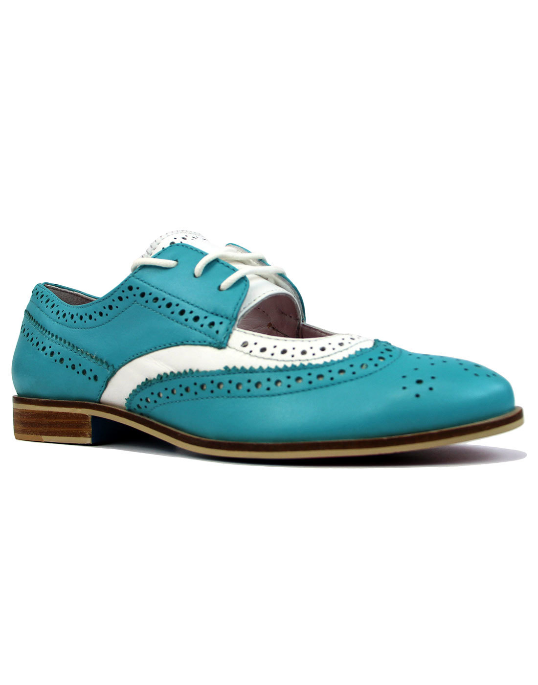 Dockery JASPER JAMES by LACEYS Retro 60s Brogues T