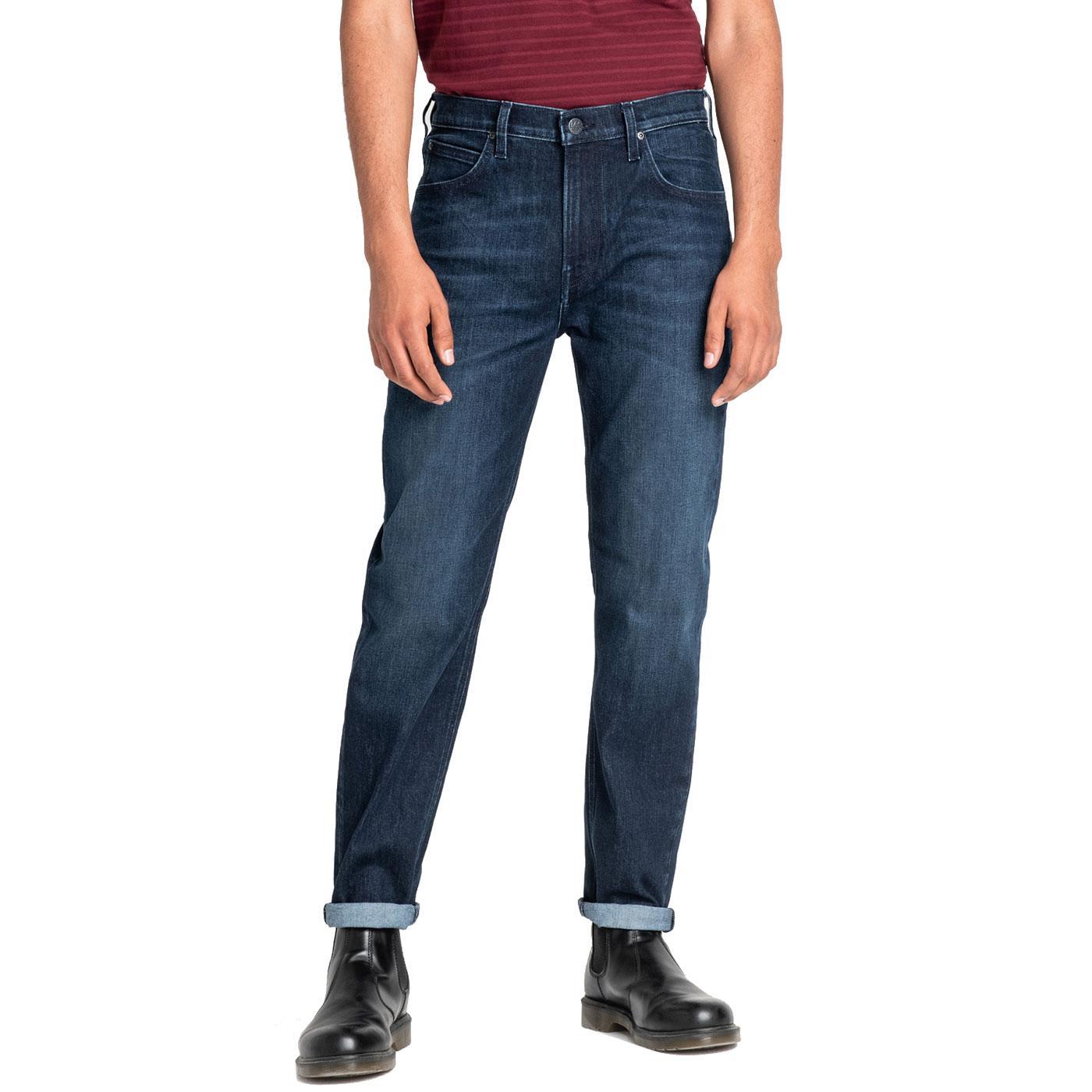 Austin LEE JEANS Tapered Denim Jeans - Dark Silver